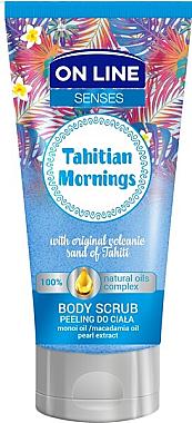 Glättendes Körperpeeling - On Line Senses Body Scrub Tahitian Morning — Bild N1