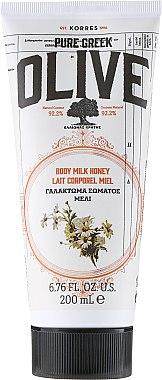Körpermilch mit Honigextrakt - Korres Pure Greek Olive Honey Body Milk — Bild N1
