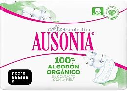 Düfte, Parfümerie und Kosmetik Damenbinden mit Flügeln 9 St. - Ausonia Cotton Protection