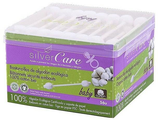 Wattestäbchen für Babys 56 St. - Silver Care Coton — Bild N1