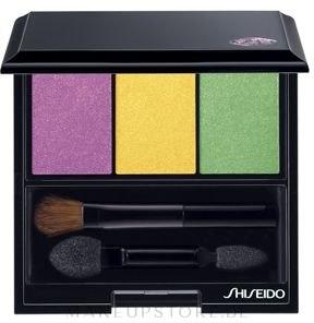 Lidschatten - Shiseido Luminizing Satin Eye Color Trio — Bild YE406 - Tropicalia