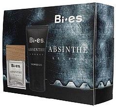 Düfte, Parfümerie und Kosmetik Bi-Es Absinthe Legend - Duftset (Eau de Toilette 100ml + Duschgel 150ml)