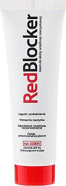 Feuchtigkeitsspendende Tagescreme für empfindliche und Kapillarhaut gegen Rötungen und Reizungen - RedBlocker Day Redness Reducing Moisturiser with Natural Green Pigments SPF 15 — Bild N3