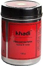 Düfte, Parfümerie und Kosmetik Pflanzenhaarfarbe - Khadi Herbal Hair Colour Henna & Amla
