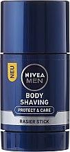 Düfte, Parfümerie und Kosmetik Pflegender und schützender Rasierstick mit Aloe Vera - Nivea Men Protect & Care Body Shaving Rasier Stick