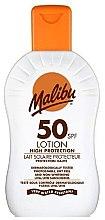 Düfte, Parfümerie und Kosmetik Wasserdichte Sonnenschutzlotion SPF 50 - Malibu Sun Lotion High Protection SPF50