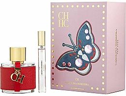 Düfte, Parfümerie und Kosmetik Carolina Herrera CH - Duftset (Eau de Toilette 100ml + Eau de Toilette Mini 10ml)