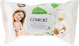 Düfte, Parfümerie und Kosmetik Feuchttücher Chamomile - Aksan Baby Wet Wipes Pure Chamomile