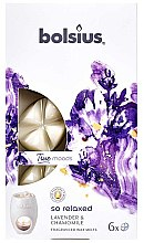 Düfte, Parfümerie und Kosmetik Tart-Duftwachs Lavender & Chamomile - Bolsius True Moods So Relaxed Lavender & Chamomile Smart Wax System