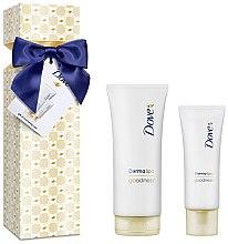 Düfte, Parfümerie und Kosmetik Körperpflegeset - Dove Derma Spa Goodness Set (Körperlotion 200ml + Handcreme 75ml)
