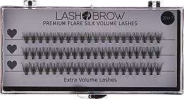 Düfte, Parfümerie und Kosmetik Wimperbuscheln-Set - Lash Brow Premium Flare Extra Volume Lashes
