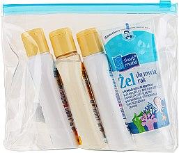 Düfte, Parfümerie und Kosmetik Kinderpflegeset - Skarb Matki (Handgel 80ml + Öl 80ml + Shampoo 80ml + Flüssigseife 80ml)