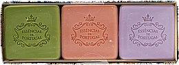 Düfte, Parfümerie und Kosmetik Naturseifen-Geschenkset - Essencias De Portugal Autumn Coffret Scent Collection