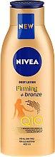Düfte, Parfümerie und Kosmetik Straffende Körperlotion mit Bronze-Effekt - Nivea Q10 Plus Firming Bronze Body Lotion