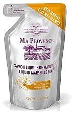 Düfte, Parfümerie und Kosmetik Flüssige Marseiller Seife mit Orangenblüten in Sparpackung - Ma Provence Liquid Marseille Soap Orange