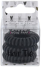 Düfte, Parfümerie und Kosmetik Haargummi schwarz 3 St. - Cosmetic 2K Hair Tie Black