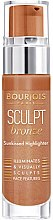 Düfte, Parfümerie und Kosmetik Flüssiger Bronze Highlighter - Bourjois Sculpt Bronze