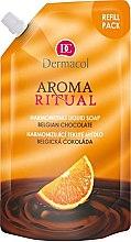 Düfte, Parfümerie und Kosmetik Flüssigseife Belgische Schokolade (Doypack) - Dermacol Aroma Ritual Liquid Soap Belgian Chocolate