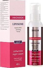 Düfte, Parfümerie und Kosmetik Anti-Flaten liposomale Nachtcreme 40+ - BingoSpa Liposome Antiwrinkle Night Cream 40+