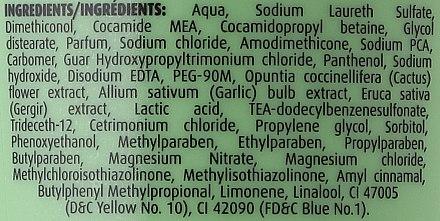 Nährendes Anti-Spliss Shampoo mit Wildkaktus-Extrakt - Dabur Vatika Wild Cactus Shampoo — Bild N3
