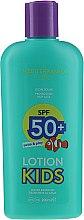 Düfte, Parfümerie und Kosmetik Wasserfeste Sonnenschutzlotion für Kinder SPF 50+ - Mediterraneo Sun Kids Lotion Swim & Play Protetor Solar SPF50