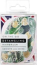Düfte, Parfümerie und Kosmetik Kompakte Haarbürste - Tangle Teezer Compact Styler Brush Palms & Pineapples