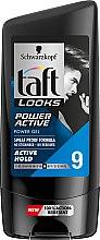 Düfte, Parfümerie und Kosmetik Haargel mit starkem Halt 72 Stunden - Schwarzkopf Taft Looks Power Active Gel