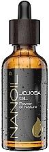 Düfte, Parfümerie und Kosmetik Jojobaöl für Gesicht, Körper und Haar - Nanoil Body Face and Hair Jojoba Oil