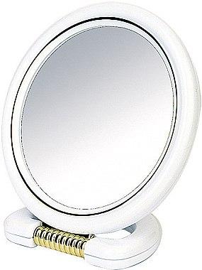Kosmetikspiegel mit Ständer 18,5 cm weiß - Donegal Mirror — Bild N1