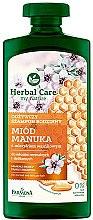 Düfte, Parfümerie und Kosmetik Nährendes Shampoo für trockenes Haar - Farmona Herbal Care Manuka Honey Family Shampoo