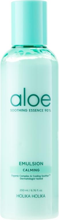 Beruhigende Gesichtsemulsion mit 90% Aloe - Holika Holika Aloe Soothing Essence 90% Emulsion Calming