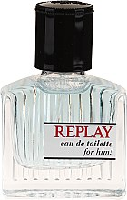 Replay For Him Giftbox - Duftset (Eau de Toilette 30ml + Duschgel 100ml) — Bild N3