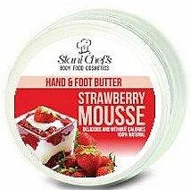 Düfte, Parfümerie und Kosmetik Hand- und Fußbutter mit Erdbeermousse - Stani Chef's Hand And Foot Butter Strawberry Mousse