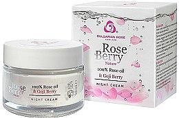 Düfte, Parfümerie und Kosmetik Nachtcreme mit Rosenöl und Goji Berry - Bulgarian Rose Rose Berry Nature Night Cream