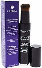Düfte, Parfümerie und Kosmetik Flüssige Foundation mit Pinsel für einen strahlenden Teint - By Terry Light-Expert Click Brush Foundation