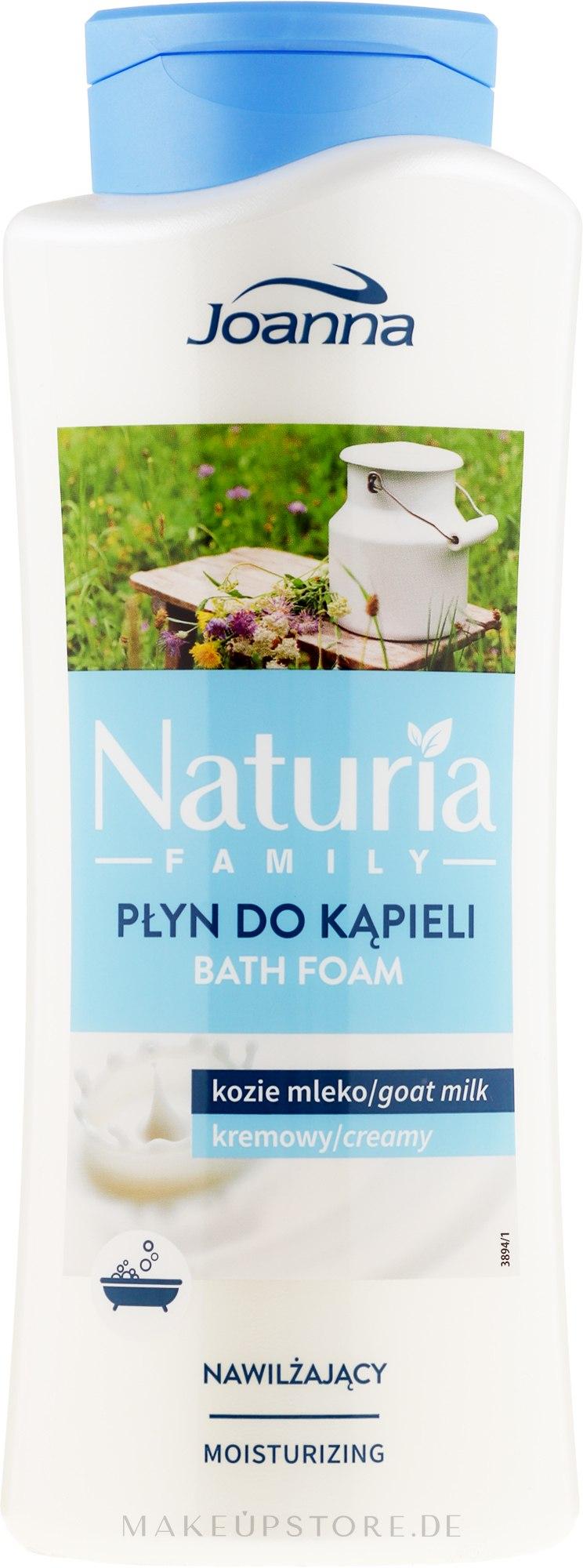 Badeschaum - Joanna Naturia Family Bath Foam Goat Milk — Bild 750 ml