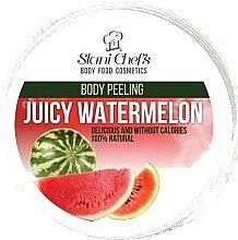 Düfte, Parfümerie und Kosmetik Schäumendes Körperpeeling Saftige Melone - Stani Chef's Juicy Watermelon Body Peeling