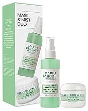 Düfte, Parfümerie und Kosmetik Gesichtspflegeset - Mario Badescu Cucumber Mask & Mist Duo Set (Gesichtsmaske 56g + Gesichtsspray 118ml)