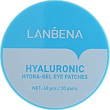 Düfte, Parfümerie und Kosmetik Hydrogel-Augenpatches für die Augen mit Hyaluronsäure - Lanbena Hyaluronic Acid Collagen Gel Moisturizing Eye Patch
