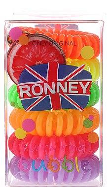 Haargummis Farb-Mix 6 St. №5 - Ronney Professional Funny Ring Bubble 5 — Bild N1