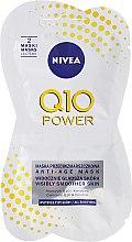 Düfte, Parfümerie und Kosmetik Anti-Aging Gesichtsmaske - Nivea Q10 Power Anti-Age Mask