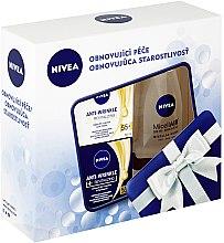Düfte, Parfümerie und Kosmetik Gesichtspflegeset - Nivea Anti-Wrinkle Revitalizing Set (Tagescreme 50ml + Nachtcreme 50ml + Mizellenwasser 200ml)