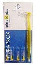Düfte, Parfümerie und Kosmetik Interdentalzahnbürsten mit Halter Prime Plus CPS 09 gelb 4 St. - Curaprox Prime Plus