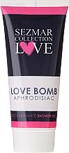 Düfte, Parfümerie und Kosmetik Intimpflege Duschgel - Sezmar Collection Love Aphrodisiac Shower Gel Love Bomb