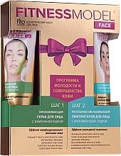 Düfte, Parfümerie und Kosmetik Gesichtspflegeset - Fito Kosmetik Fitness Model (Gesichtscreme 45ml + Gesichtspeeling 45ml)
