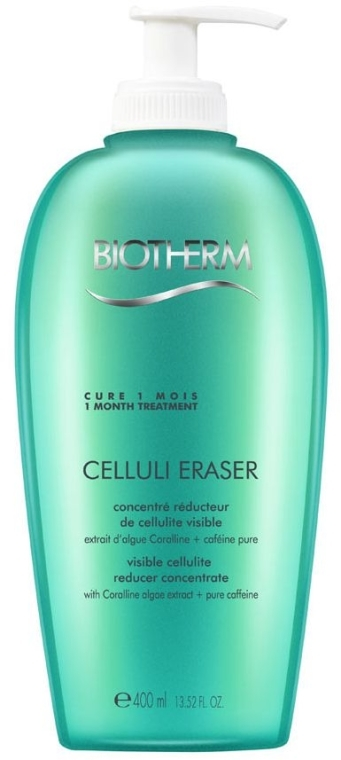 Anti-Cellulite Gel mit Koffein und Korallenalgenextrakt für den Körper - Biotherm Celluli Eraser Visible Cellulite Reducer Concentrate — Bild N2