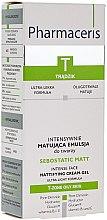 Düfte, Parfümerie und Kosmetik Intensiv mattierendes Gesichtscreme-Gel - Pharmaceris T-Sebostatic Matt Mattifying Cream-Gel