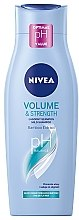 "Düfte, Parfümerie und Kosmetik Pflegeshampoo ""Volumen & Kraft"" - Nivea Hair Care Volume Sensation Shampoo"