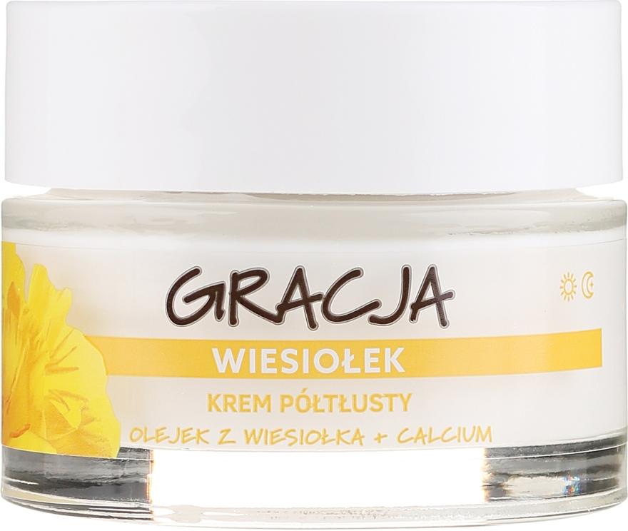 Anti-Falten Tages- und Nachtcreme mit Primelöl - Miraculum Gracja Semi-oily Cream With Evening Primrose — Bild N2