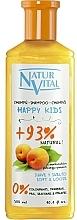 Düfte, Parfümerie und Kosmetik Sanftes Shampoo für Babys und Kinder mit Pfirsichextrakt - Natur Vital Happy Kids Hair Shampoo